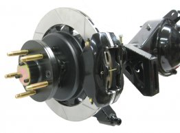 "Full Floating 9"" Rear End System - 13"" rotors, '4S' 4 piston calipers with parking brake"