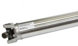 Custom length aluminum driveshaft
