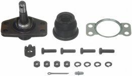 Upper Ball Joint for Street or Track +Caster Upper Control Arm