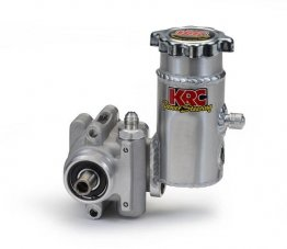 KRC Power Steering Elite Series Pump w/bolt on tank (without pulley)