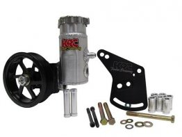 KRC Power Steering Elite Series Pump w/bolt on tank & pulley - 302 SBF
