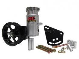 KRC Power Steering Elite Series Pump w/bolt on tank & pulley - 351 SBF