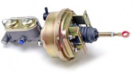 Power brake conversion for 1964-66 automatic Mustang with 4 wheel disc brakes