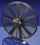 Spal 16inch straight blade high performance puller fan