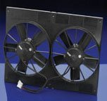 Spal 11inch dual paddle blade fan