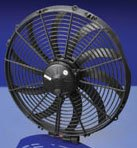 Spal 16inch curved blade extreme performance puller fan