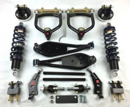 "SOT Front Coilover system, 13"" Brakes and Billet Big Spindles"